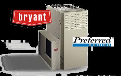 Bryant Preferred Series Standard Efficiency Gas Furnace