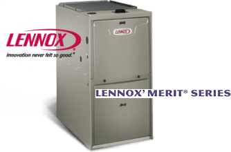 Lennox Merit Series High Efficiency Gas Furnace Overlake