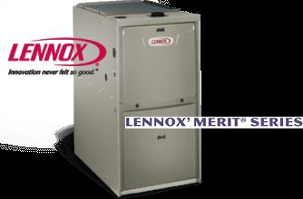 Lennox Merit Series High Efficiency Gas Furnace Overlake