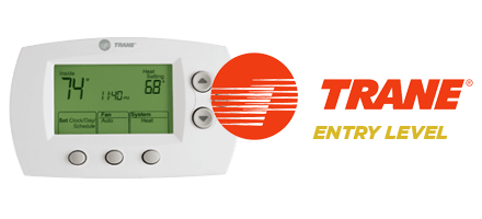 Trane Xl600 Adjustable Thermostat Overlake Heating Amp Air